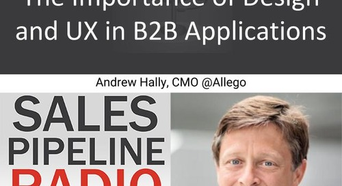 Sales Pipeline Radio, Episode 138: Q&A with Andrew Hally @andrewjhally