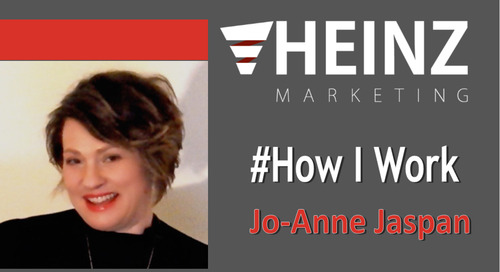 """How I Work"":  Jo-Ann Jaspan, Founder of Jaspan Consulting @JoAnneJaspan #HowIWork"