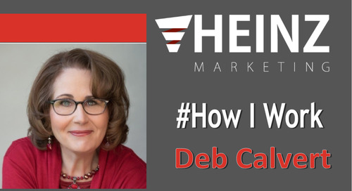 """How I Work"":  Deb Calvert, Best Selling Author @PeopleFirstPS #HowIWork"