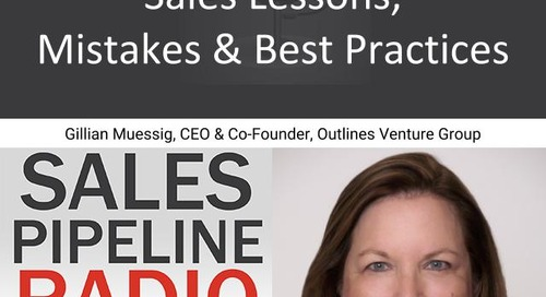 Sales Pipeline Radio, Episode 143: Q&A with Gillian Muessig @SEOmom