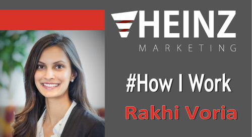 """How I Work"":  Rakhi Voria Chief of Staff at Microsoft @rakhivoria #HowIWork"