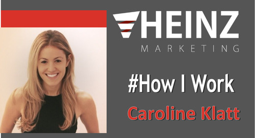 """How I Work"":  Caroline Klatt, CEO of Headliner Labs @linistern #HowIWork"