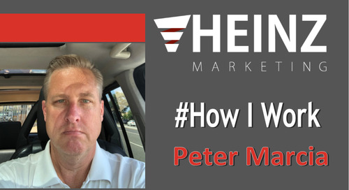 """How I Work"":  Peter Marcia, CEO of YouDecide @YouDecideVBO #HowIWork"
