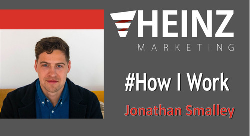 """How I Work"":  Jonathan Smalley CEO and Founder of Yaguara @JSSmalley #HowIWork"