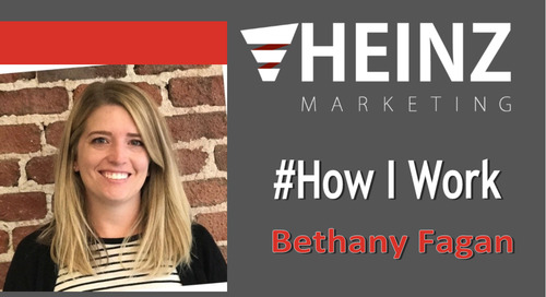 """How I Work"":  Bethany Fagan, Content Marketing Manager at PandaDoc @bchrisman11 #HowIWork"