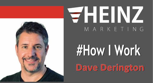"""How I Work"":  Dave Derington, Director of User Enablement at Azuqua @davederington #HowIWork"