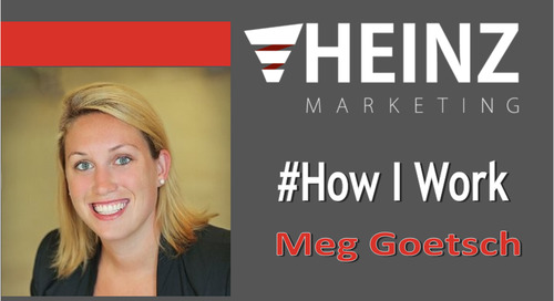 """How I Work"":  Meg Goetsch, Vice President of Revenue Operations at JW Player @meggoetsch #HowIWork"