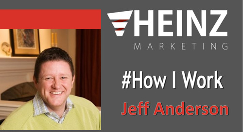 """How I Work"":  Jeff Anderson, Founder at The Evergreen Market @EVERGREENMKT #HowIWork"