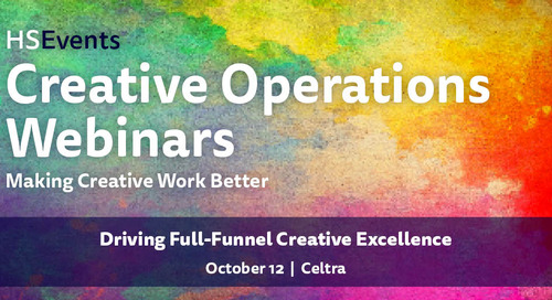 Webinar: Driving Full-Funnel Creative Excellence | Oct 12