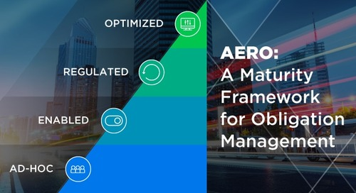 AERO: A Maturity Model for Managing Obligations in the Enterprise