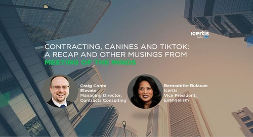 Contracting, Canines and TikTok: A Recap and Other Musings from the Meeting of the Minds