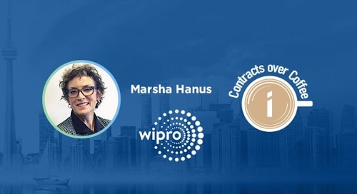 Podcast: Contracts over Coffee with Wipro's Marsha Hanus