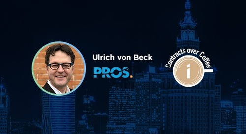 Podcast: Contracts Over Coffee with PROS' Ulrich von Beck