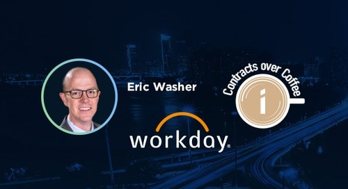 Podcast: Contracts over Coffee with Workday's Eric Washer