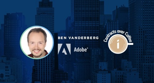 Podcast: Contracts Over Coffee with Adobe's Ben Vanderberg