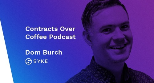Podcast: Contracts Over Coffee with Syke's Dom Burch