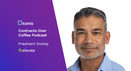 Podcast: Contracts Over Coffee with Elevate Services' Prashant Dubey