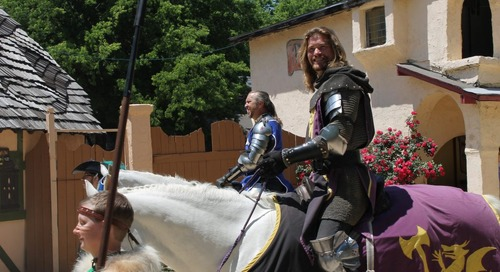 Find Chivalry And The Royal Treatment At Scarborough Renaissance Festival's Mother's Day Weekend