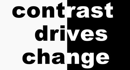 B2B Sales: Contrast Drives Change
