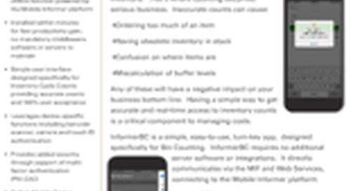 InformerBC - Data Sheet