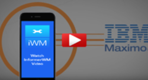 Mobile InformerWM - Work Management Maximo Mobile App - Video