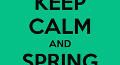 Spring Forward... to a Maximo User Group!