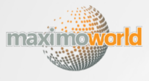 MaximoWorld 2019, August 6th - 8th