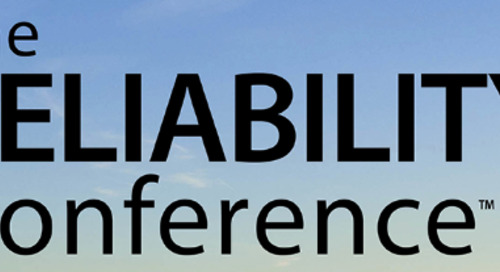 The Reliability Conference 2019, May 6th - 10th