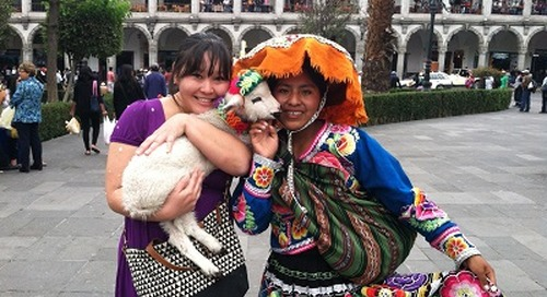 Arequipa, Peru English Teaching Q&A with Sari Atchue