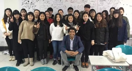 My Experiences Teaching English at the University Level in China