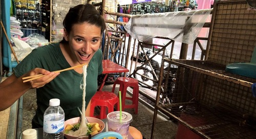 What to Eat While Teaching English in Bangkok, Thailand