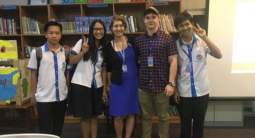 My Journey from English Teacher to NGO Writer in Cambodia