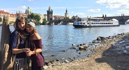 Prague, Czech Republic English Teaching Q& A with Emma Grace Fairchild