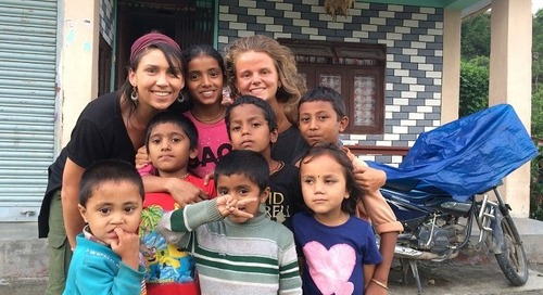 Ghatchhina, Nepal Volunteer English Teaching Q&A with Jimena Medina