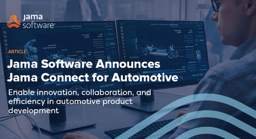 Introducing Jama Connect for Automotive