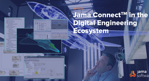 Jama Connect in the Digital Engineering Ecosystem