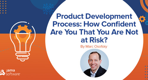 Product Development Process: How Confident Are You That You Are Not at Risk?