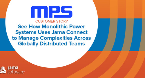 Monolithic Power Systems Uses Jama Connect to Manage Complexities