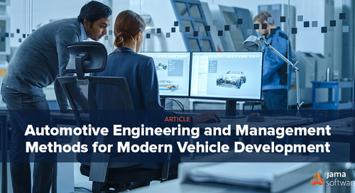 Automotive Engineering and Management Methods for Modern Vehicle Development –Industry Challenges