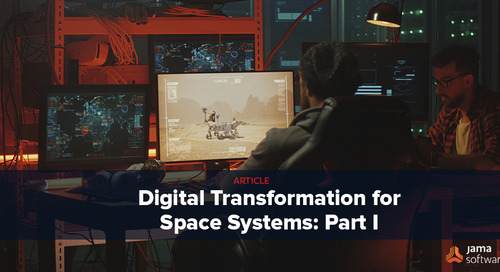 Digital Transformation for Space Systems: Part I