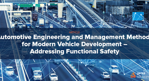 Automotive Engineering and Management Methods for Modern Vehicle Development – Addressing Functional Safety