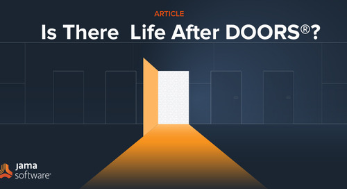 Is There Life After DOORS®?