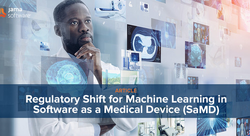 Regulatory Shift for Machine Learning in Software as a Medical Device (SaMD)