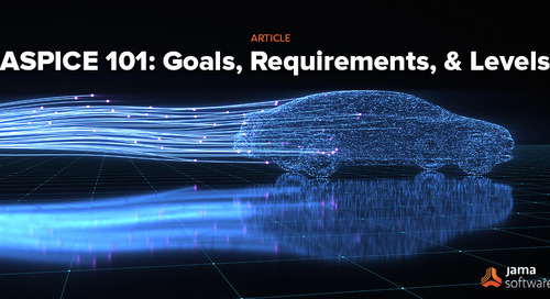 ASPICE 101: Goals, Requirements, and Levels