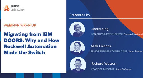 Migrating from IBM DOORS: Why and How Rockwell Automation Made the Switch
