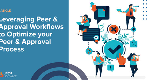 Leveraging Peer and Approval Workflows to Optimize your Peer and Approval Process