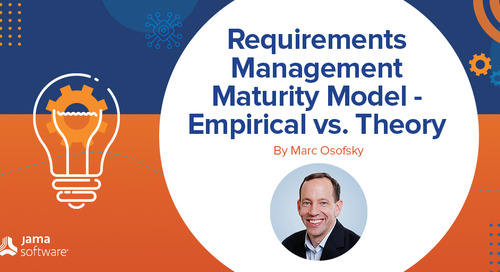 Requirements Management Maturity Model–Empirical vs. Theory