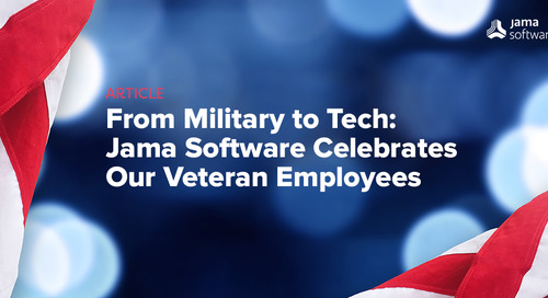 From Military to Tech: Jama Software Celebrates our Veteran Employees
