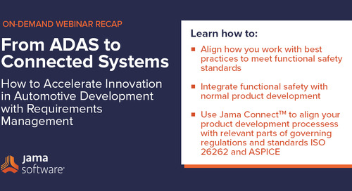 [Webinar Recap] From ADAS to Connected Systems – Accelerating Automotive Development