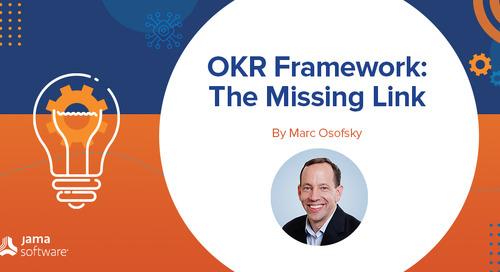 OKR Framework – The Missing Link